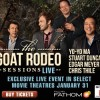 The Goat Rodeo Sessions LIVE at theaters featuring Yo-Yo Ma, Stuart Duncan, Edgar Meyer and Chris Thile